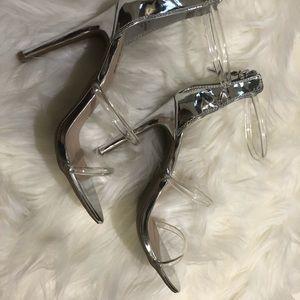 Bebe clear heel